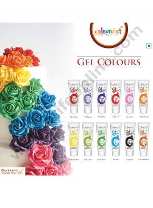 Bakersville Colourmist Gel Colour