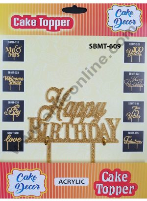 Happy BirthDay SBMT-609