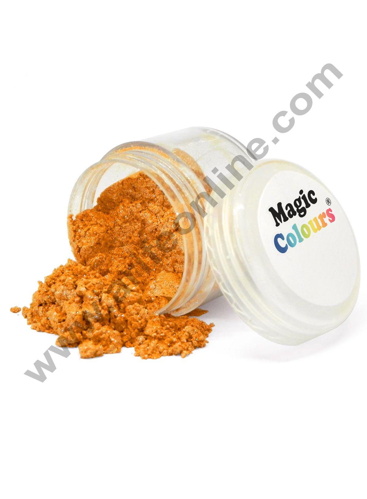 Magic Colours™ Edible Lustre Dust - Orange Blast (8 ml)