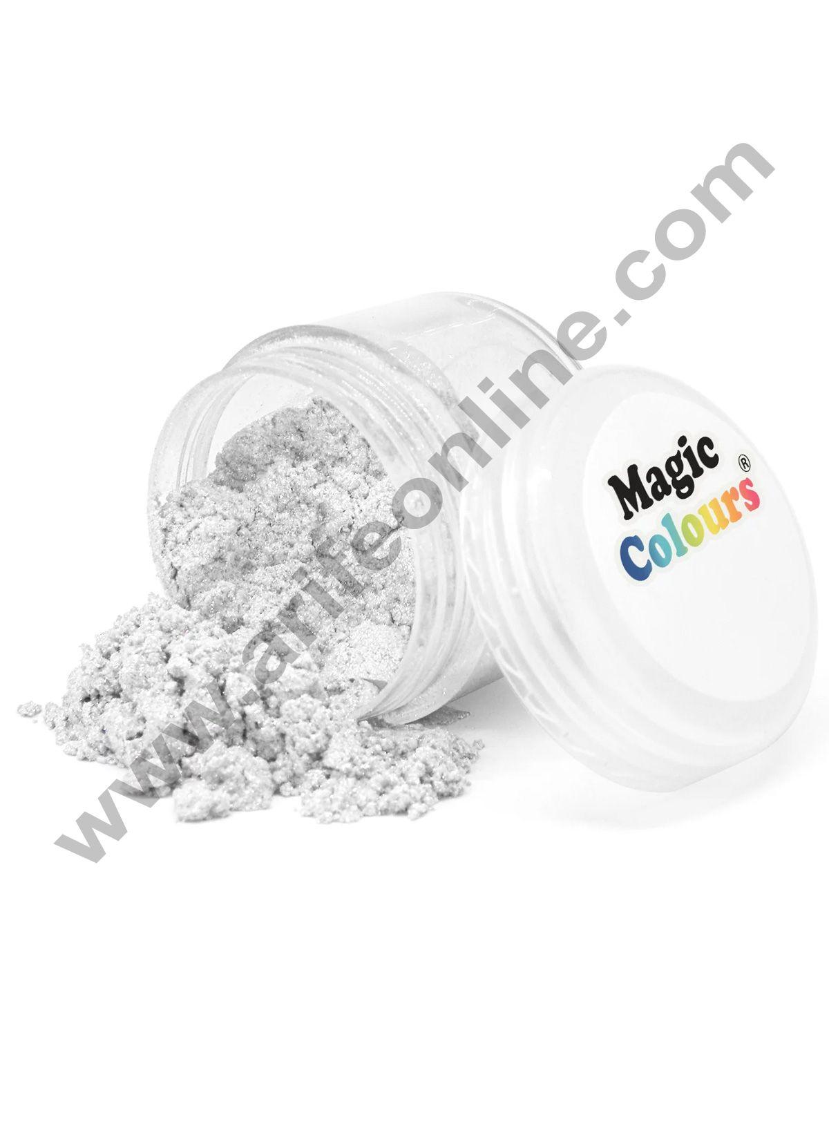 Magic Colours™ Edible Lustre Dust - Pearl Ivory (8 ml)