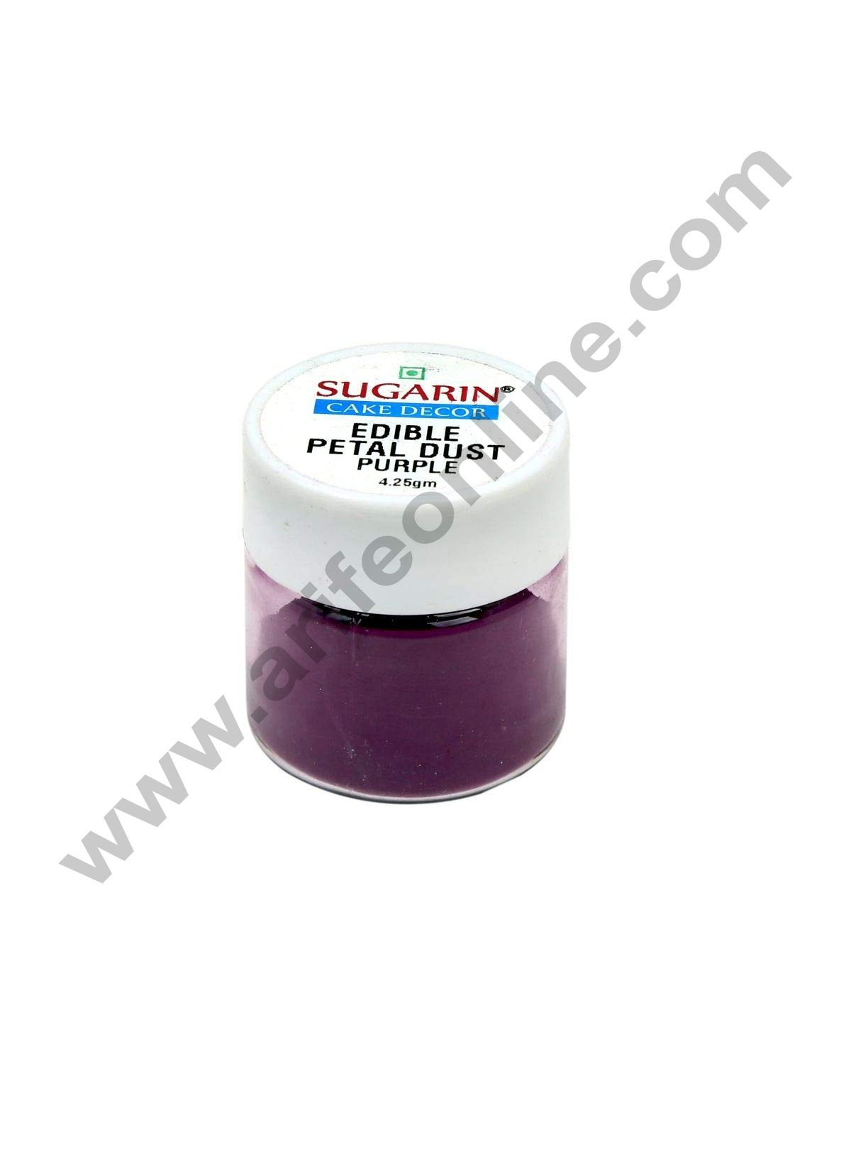 Sugarin Edible Petal Dust, Purple, 4.25gm