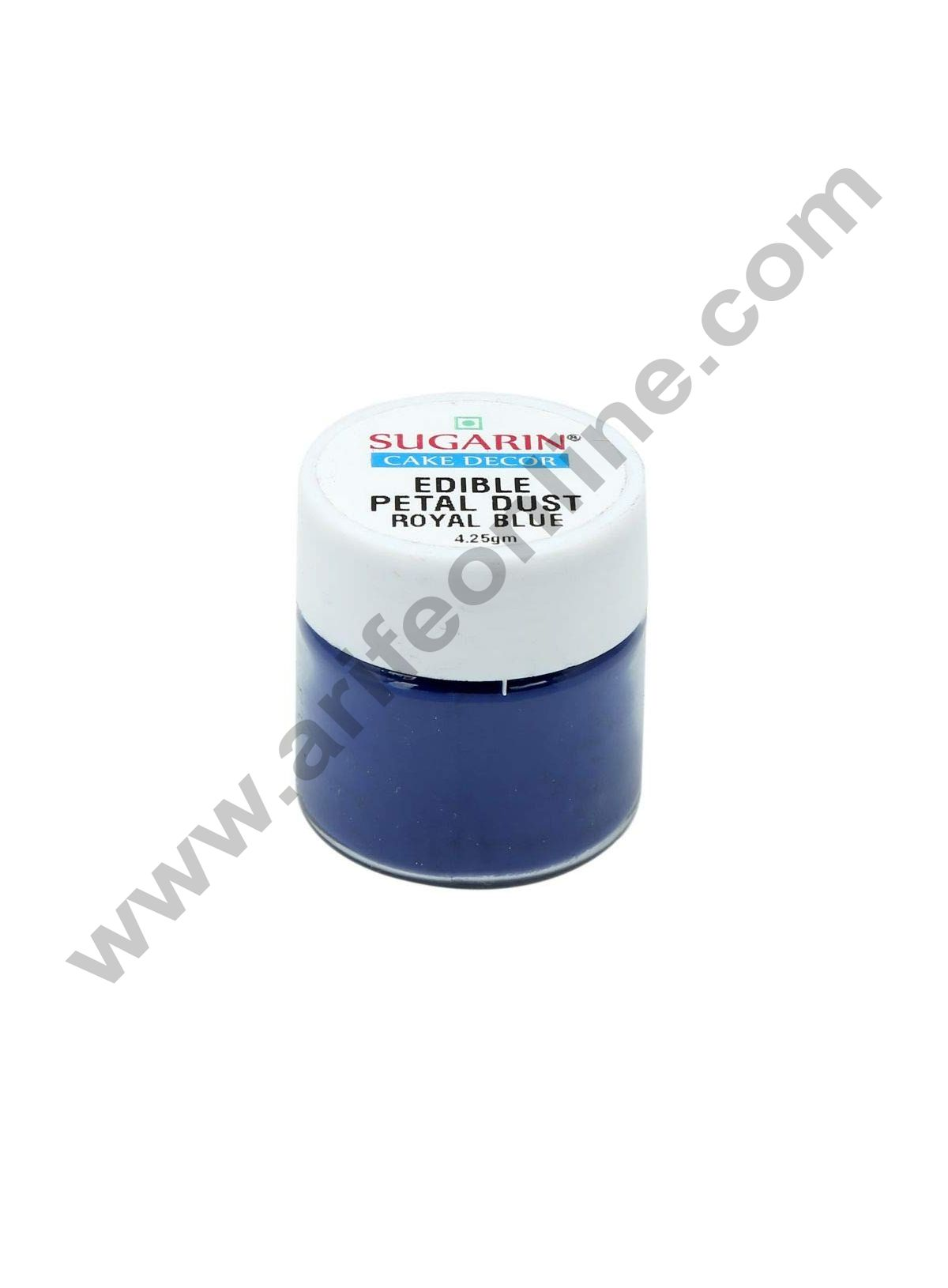 Sugarin Edible Petal Dust, Royal Blue, 4.25gm