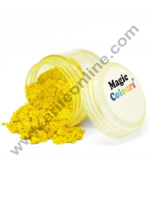 Magic Colours™ Edible Lustre Dust - Yellow Light (8 ml)