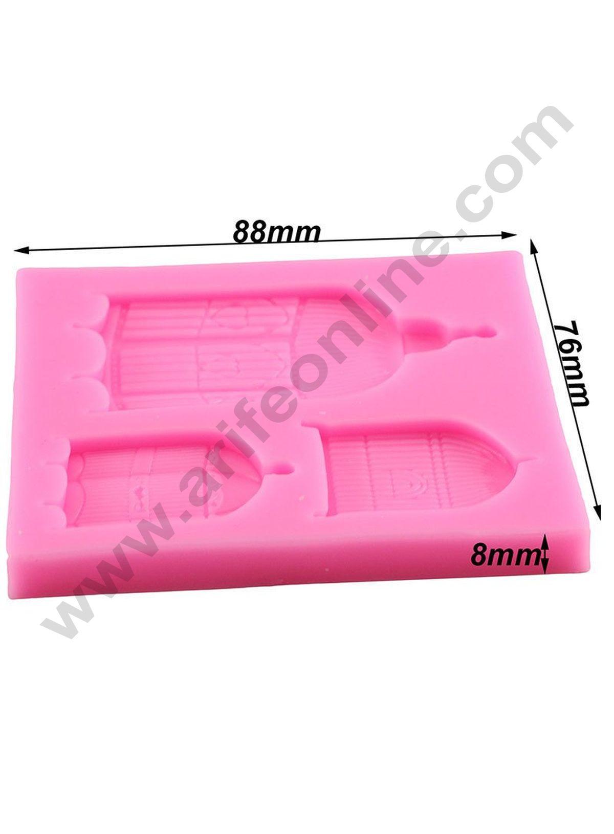 Alphabet 30 Cavity Silicone Mold for Fondant Gum Paste Chocolate Crafts NEW