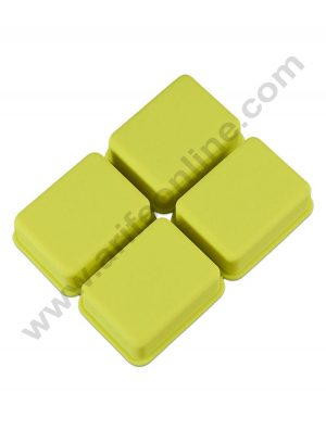 4 Cavity Rectangle Soap Silicon Moulds