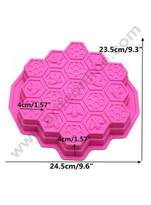 Bee Honeycomb Shape Cake Mould