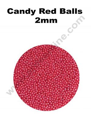 Candy Red Balls 2mm