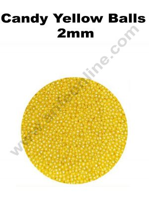 Candy Yellow Balls 2mm