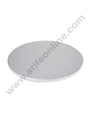 Drum Board round Silver